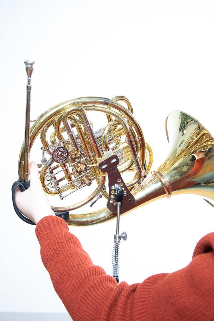 ERGObrass on a french horn